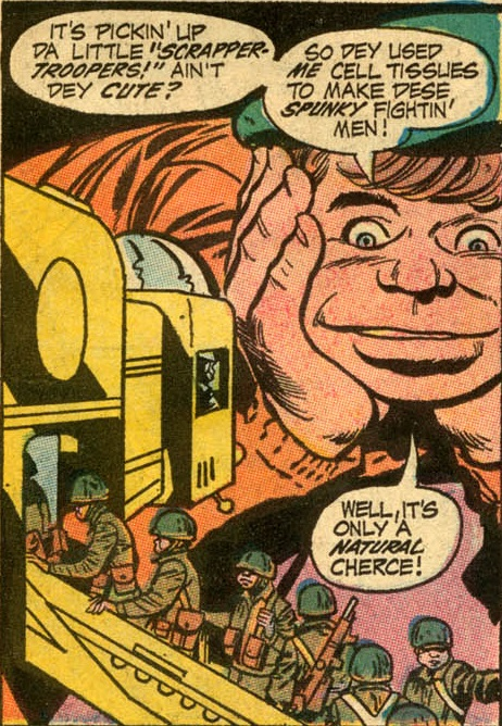 jimmy olsen 136-11 the saga of the dnaliens