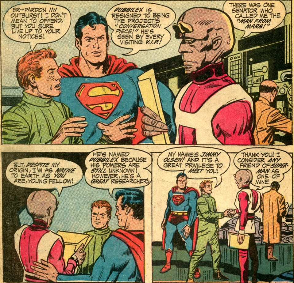 jimmy olsen 136-21 the saga of the dnaliensa