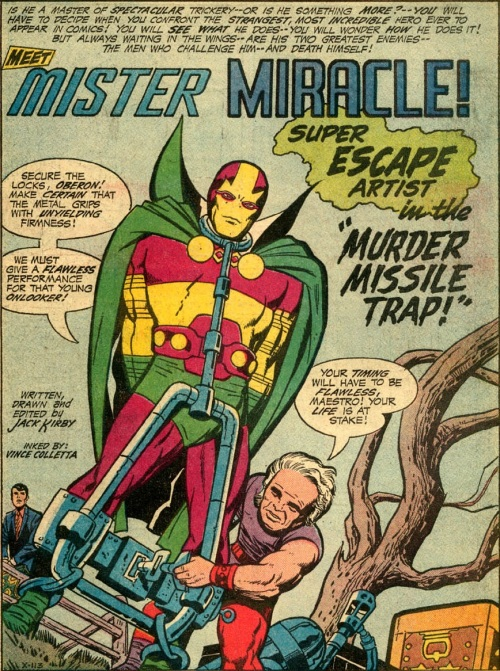 mr miracle 01-01 murder missle trap