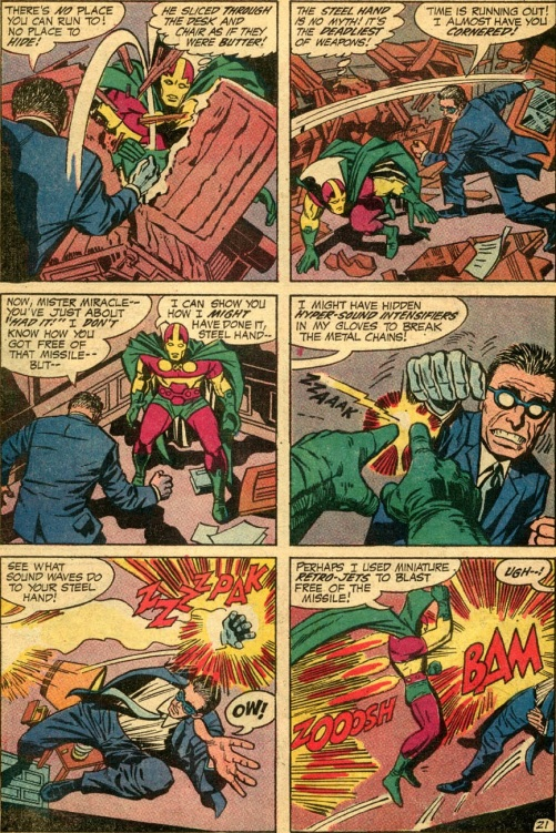 mr miracle 01-21 murder missle trap