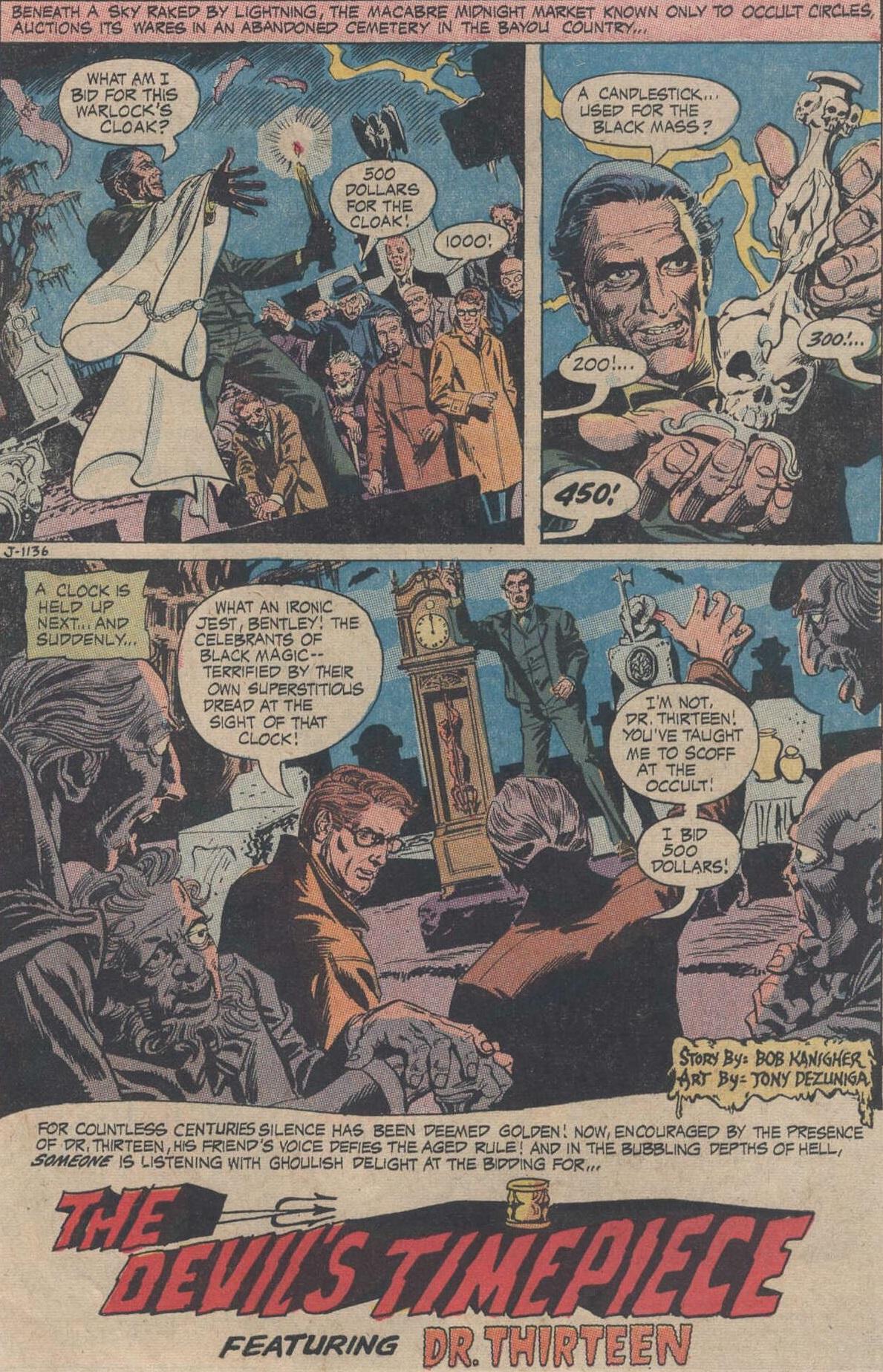 the phantom stranger (1969) 13 - 25